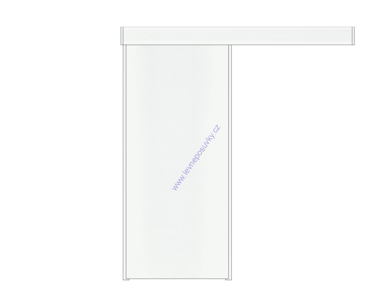 Posuvné dveře na stěnu levně